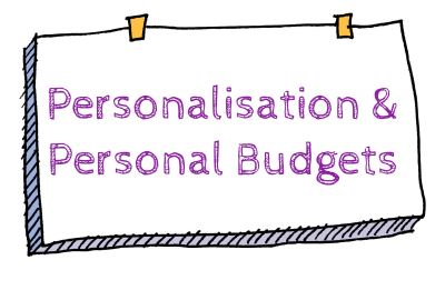 learning example personalisation and personal budgets