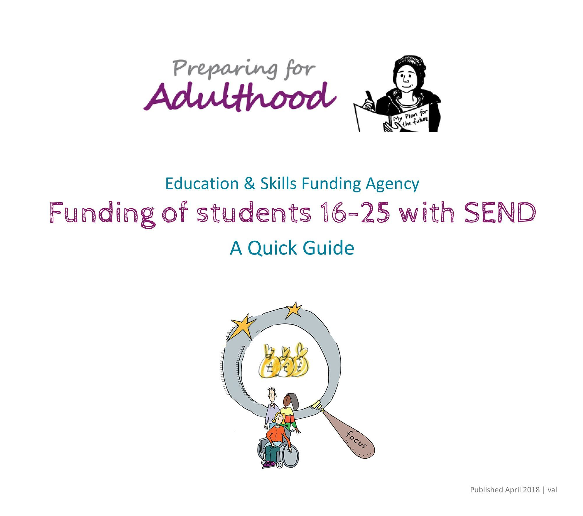 ESFA Guide Funding of students 16-25 with SEND