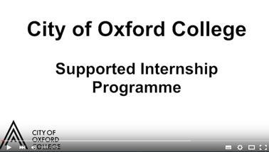 City of Oxford College: Supported Internship Programme