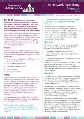 Plymouth 14-25 Network Case Study
