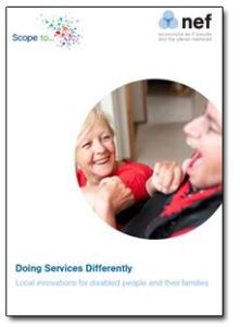 Doing Services Differently: Local innovations for disabled people and their families