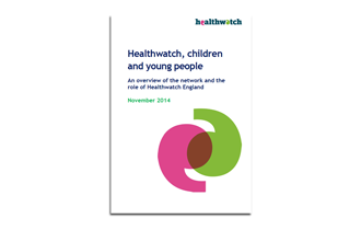 Healthwatch, children and young people