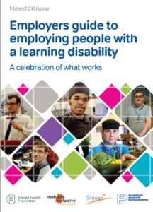 Employers guide to employing people with a learning disability