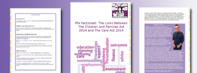 Factsheet: The Children and Families Act and The Care Act