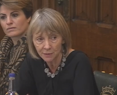 Linda Jordan takes part in Roundtable discussion with the Government Select Committee on post-16 sup